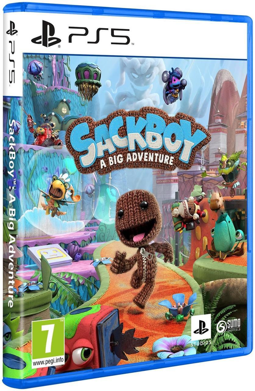 Sackboy a big adventure (російська версія) PS5