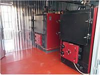 Модульная твердотопливная котельная от 50 кВт