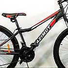 """Подростковый велосипед 24"""" Azimut Forest GD черно-красный, фото 4"""