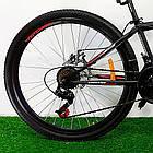 """Подростковый велосипед 24"""" Azimut Forest GD черно-красный, фото 5"""