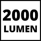 Прожектор гибридный Einhell TE-CL 18/2000 LiAC - Solo, фото 8