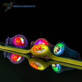 Дитячий світиться силіконовий браслет годинник на руку VT-0202