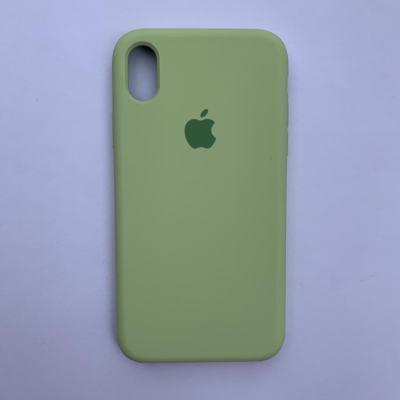 Чехол-накладка Silicone Case для Apple iPhone XR Avocado
