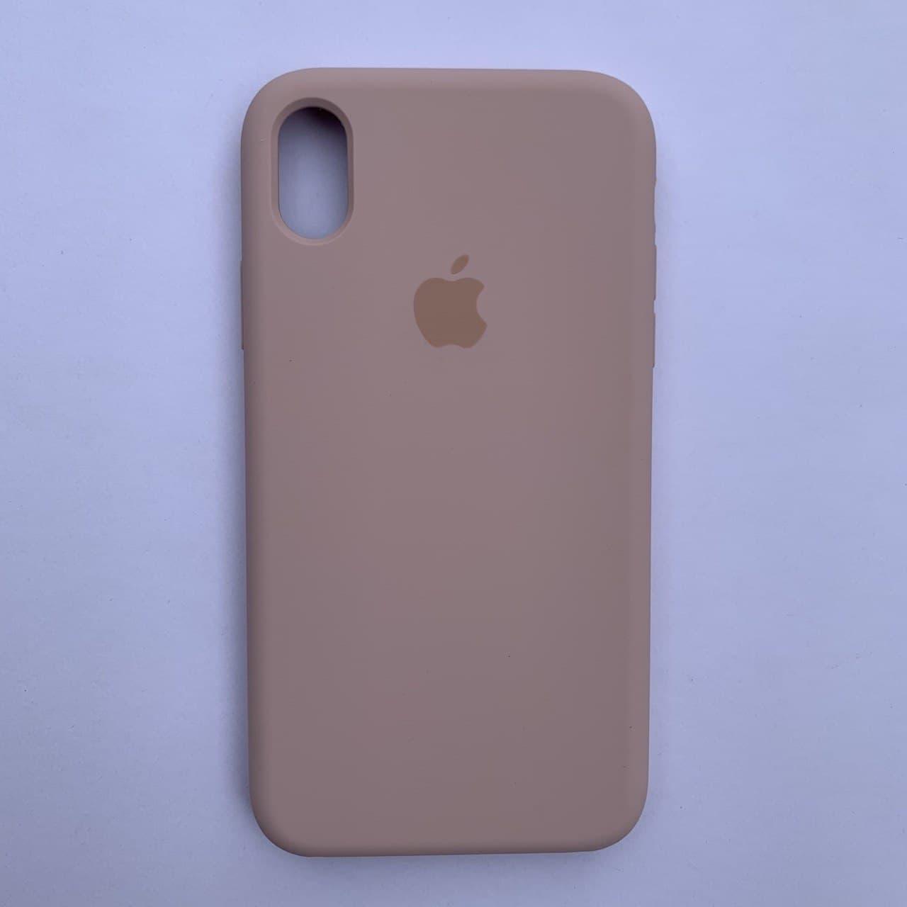 Чехол-накладка Silicone Case для Apple iPhone XR Pink Sand