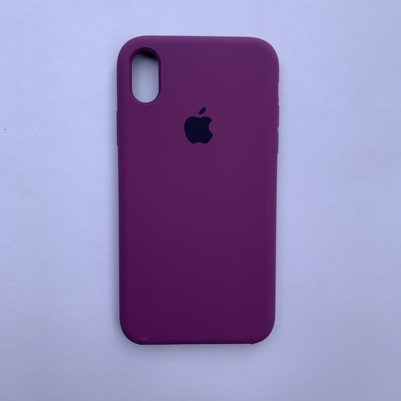 Накладка Silicone Case для Apple iPhone XR Purple