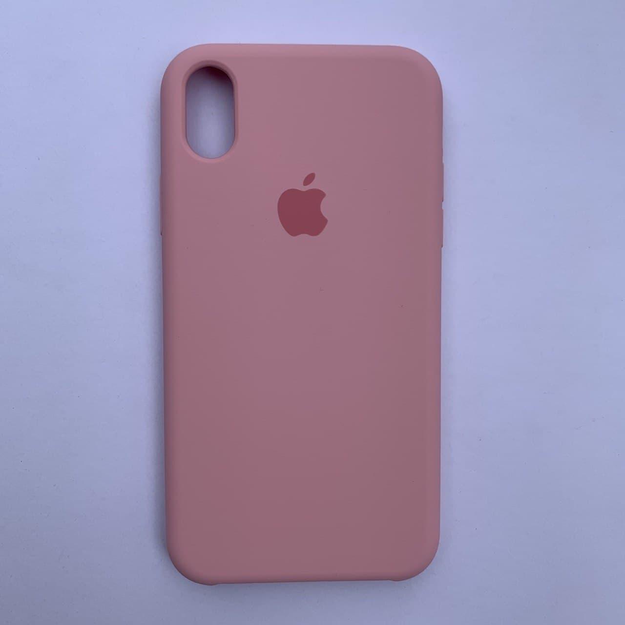 Накладка Silicone Case для Apple iPhone XR Rose Pink