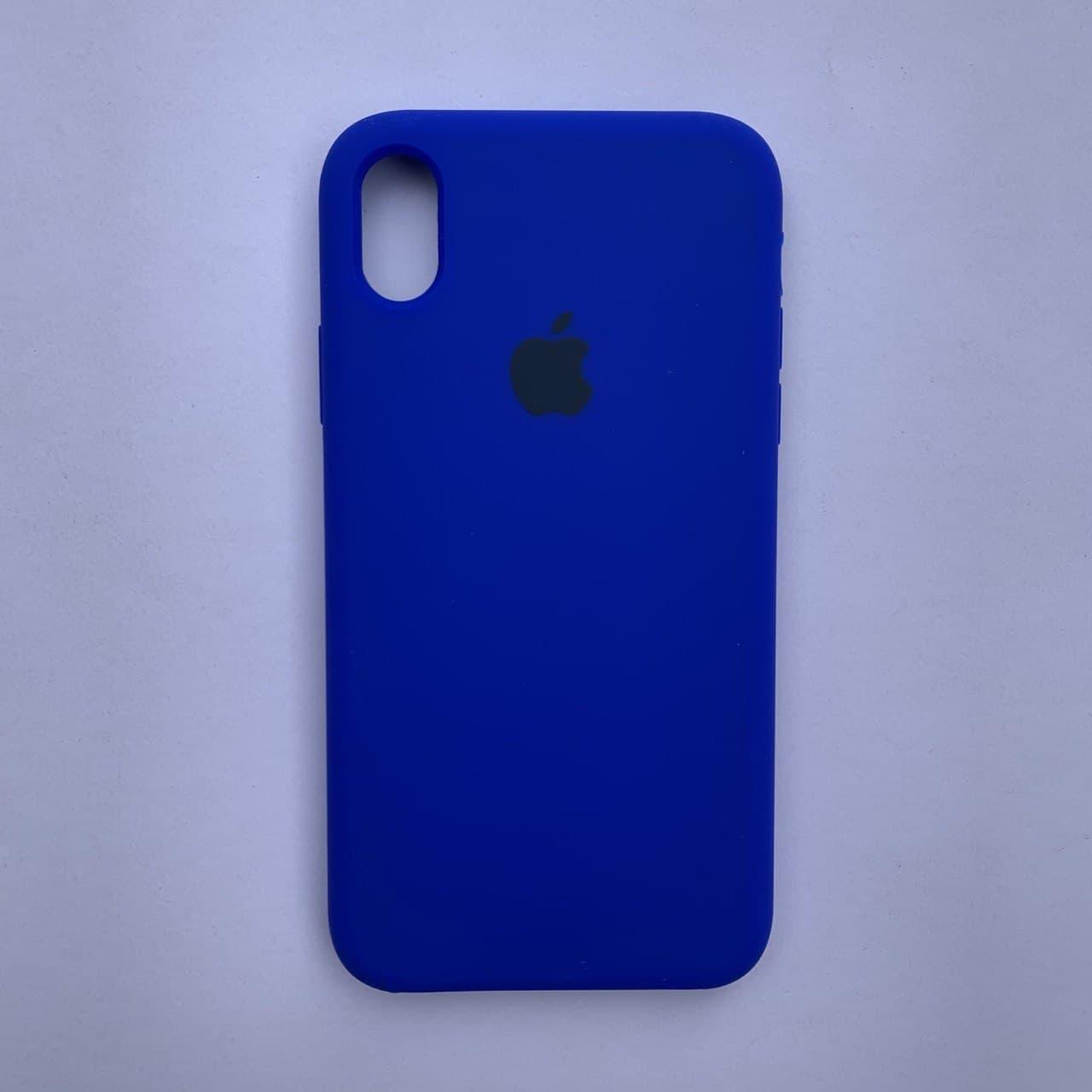 Накладка Silicone Case для Apple iPhone XR Sapphire Blue