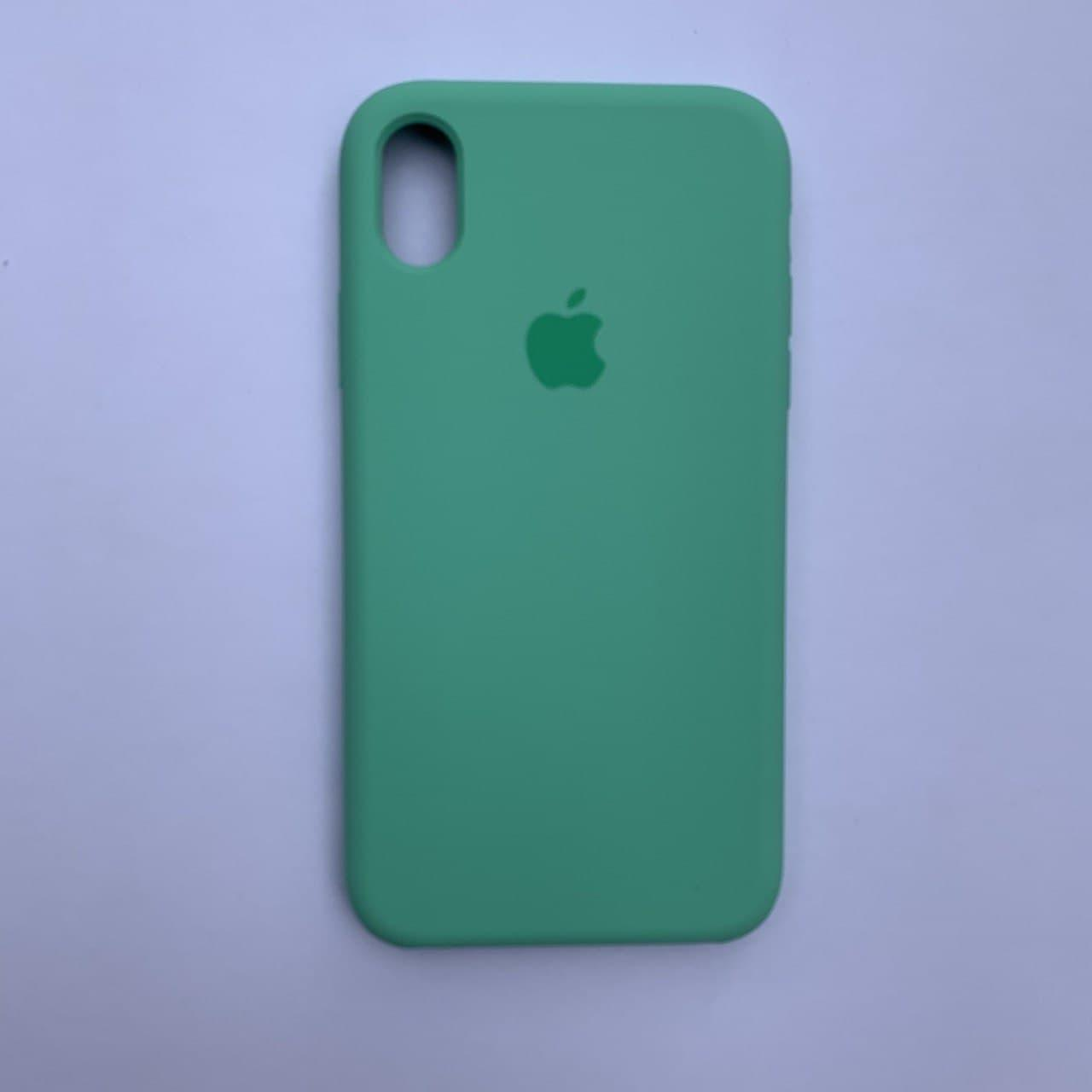 Накладка Silicone Case для Apple iPhone XR Spearmint