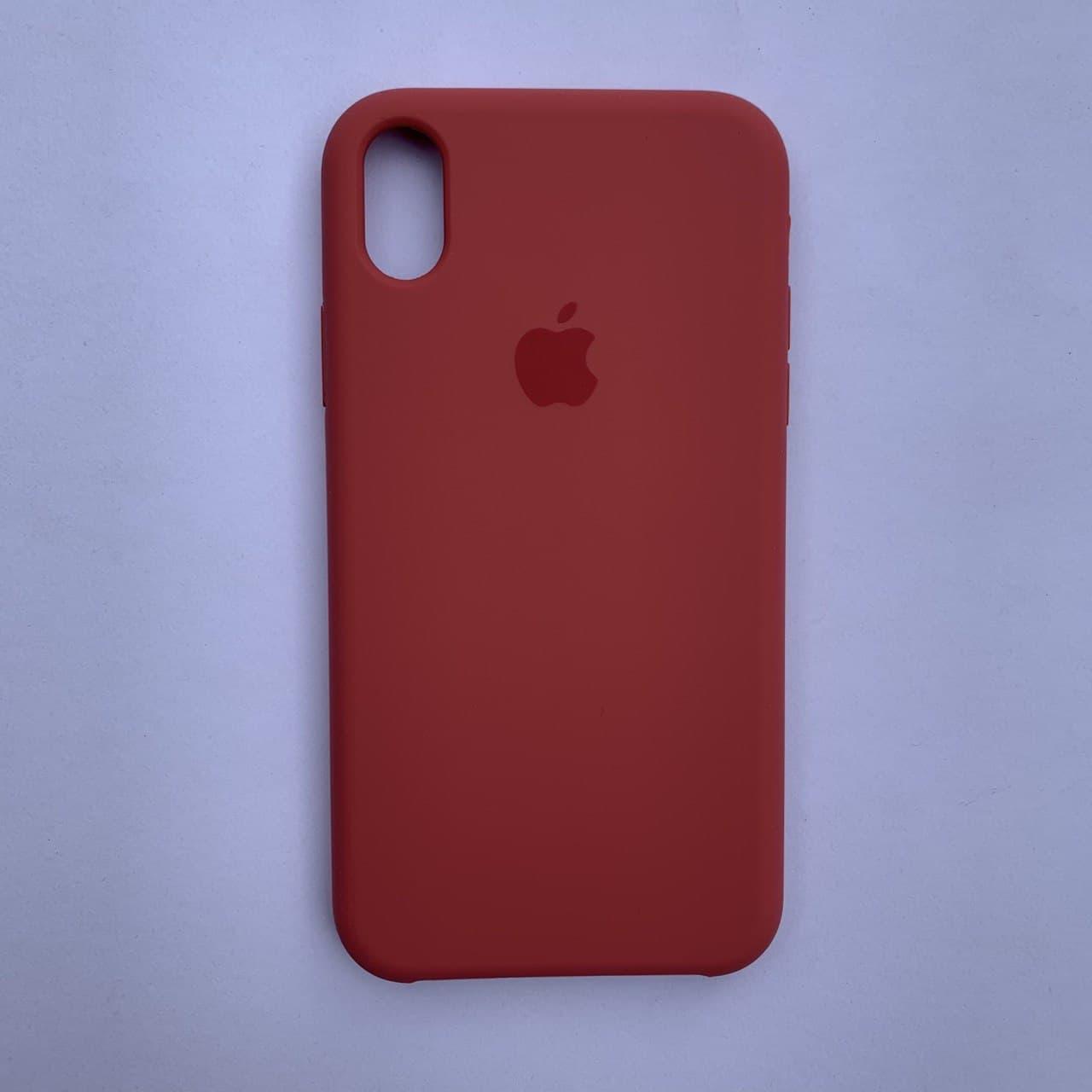 Чехол-накладка Silicone Case для Apple iPhone XR Strawberry