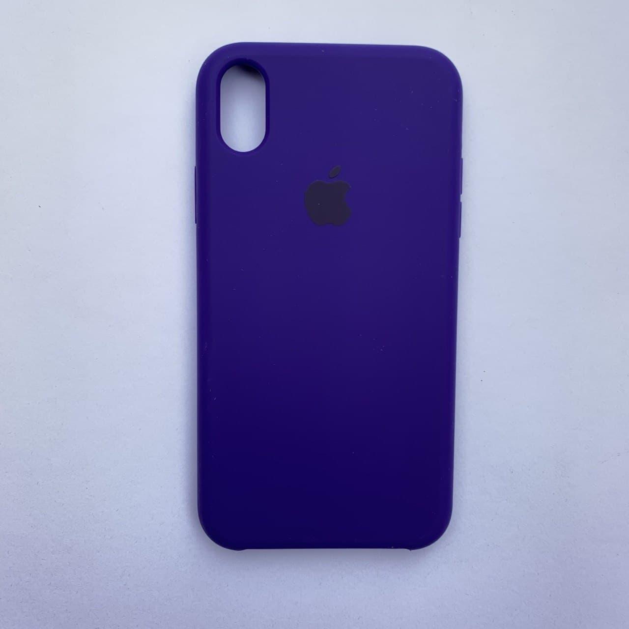 Накладка Silicone Case для Apple iPhone XR Ultra Violet