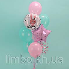 Шарики для день рождения девочки