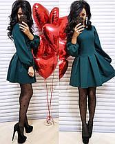 Платье кокетка с рукавом фонариком, фото 3