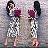 Платье летнее талия на резинке свободное супер-софт, фото 2