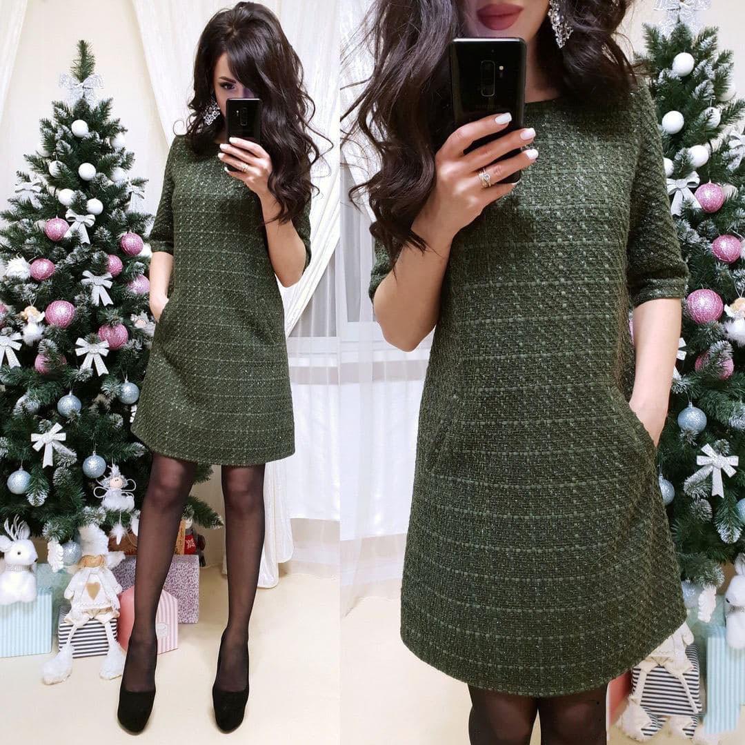Очень красивое платье Милена с люрексовой нитью