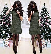 Очень красивое платье Милена с люрексовой нитью, фото 3
