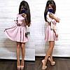 Платье выше колена с завышенной талией шелк, фото 4