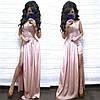 Нарядный комбинезон с шортами и имитацией платья из дорогого кружева, фото 3