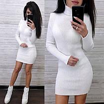 Сукня гольф з довгим рукавом, фото 3