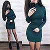 Сукня гольф з довгим рукавом, фото 4
