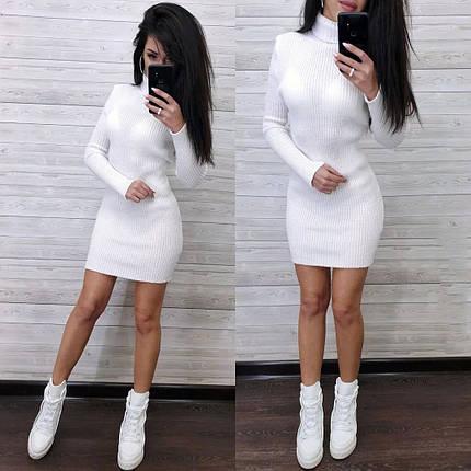 Сукня гольф з довгим рукавом, фото 2