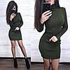 Платье гольф с длинным рукавом, фото 6