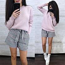 Крутой свободный свитер теплый вязаный 2021, фото 2