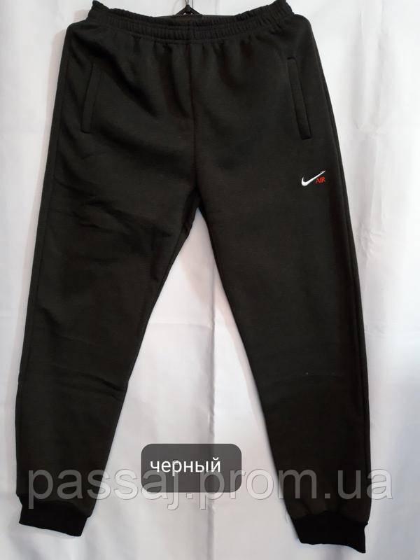 Чоловічі чорні теплі штани на флісі нові