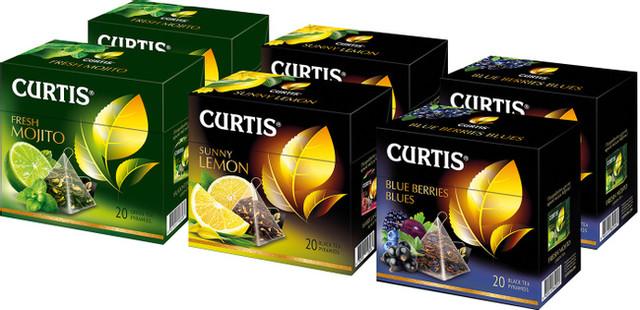 Найкращий чай Кертіс у пірамідках