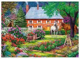 "Кастор пазлы 300 ""Чудесный сад"" 40*29 В-030217"
