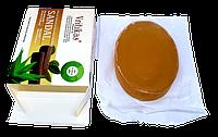 Мыло натуральное Сандал с Алое Вера - антибактериальное, смягчает кожу, подходит для чувствительной кожи