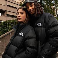 Куртка пуховик мужская женская унисекс черная на молнии зимняя в стиле The North Face 1:1 к оригиналу
