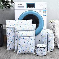 Комплект мішечків для дбайливого прання речей 5 шт (СДС-100)