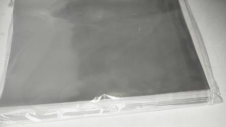 Целлофановые подарочные пакеты прозрачные 15*20 см, 100шт/уп, фото 2