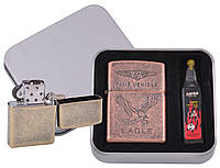 Зажигалка бензиновая в подарочной коробке 7XT-3864-3