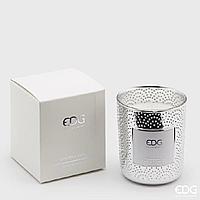 Декоративна ароматична свічка SPECCHIO SILVER