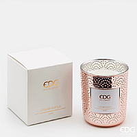 Декоративна ароматична свічка SPECCHIO ROSEGOLD