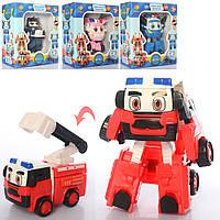 Трансформер Robocar Poli в коробці 4 види 83168-JC1