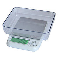 Ювелірні ваги 0.01-600г з чашею MH-889
