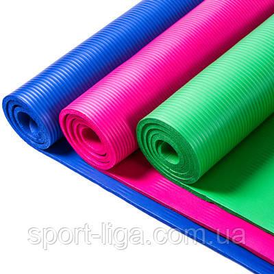 Йогамат, коврик для фитнеса, йоги, 180*80*1см