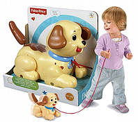 Каталка маленький щенок Снупи Фишер-Прайс Fisher-Price Little Snoopy