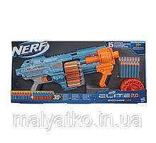 Бластер Нерф Еліт Шоквэйв Blaster NERF Elite 2.0 Shockwave RD-15