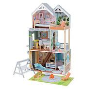 Кукольный домик с мебелью Хэйлли KidKraft Hallie 65980