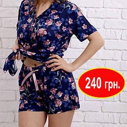 Пижама женская рубашка и шорты Nicoletta S,M