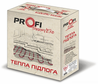 Нагрівальний кабель двожильний для теплої підлоги 14,5 -18,4м.кв (2420Вт) Profi therm EKO 16.5Вт/м