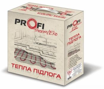Электрический нагревательный кабель теплого пола  1.5м.кв (220Вт) Profi therm EKO FLEX