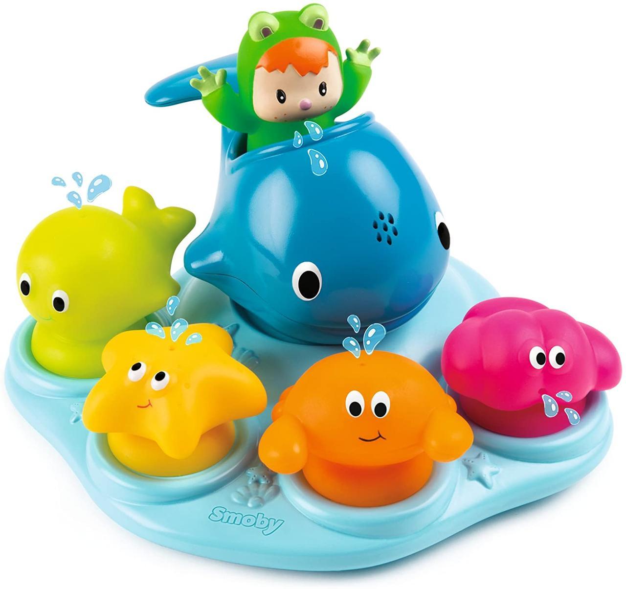 """Набор для ванны Cotoons """"Веселые животные"""" на присосках, Smoby 110608"""