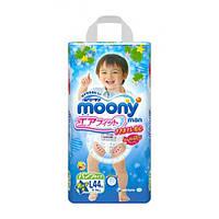 Moony подгузники – трусики Air Fit L  (9-14) кг, 44 шт. для мальчика