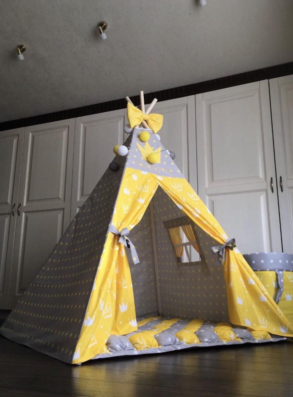 Вигвам  «Желтая корона»