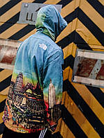 Мужская брендовая куртка/ветровка Supreme x The North Face summit day city