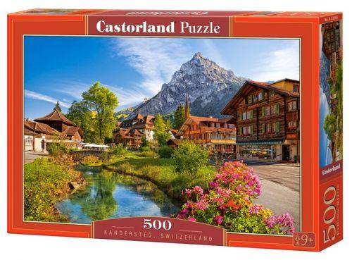 "Кастор пазлы 500 ""Кандерштеге, Швейцария"" 47*33 В-52363"